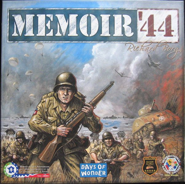 Memoir '44 ‐ English second edition (2006)