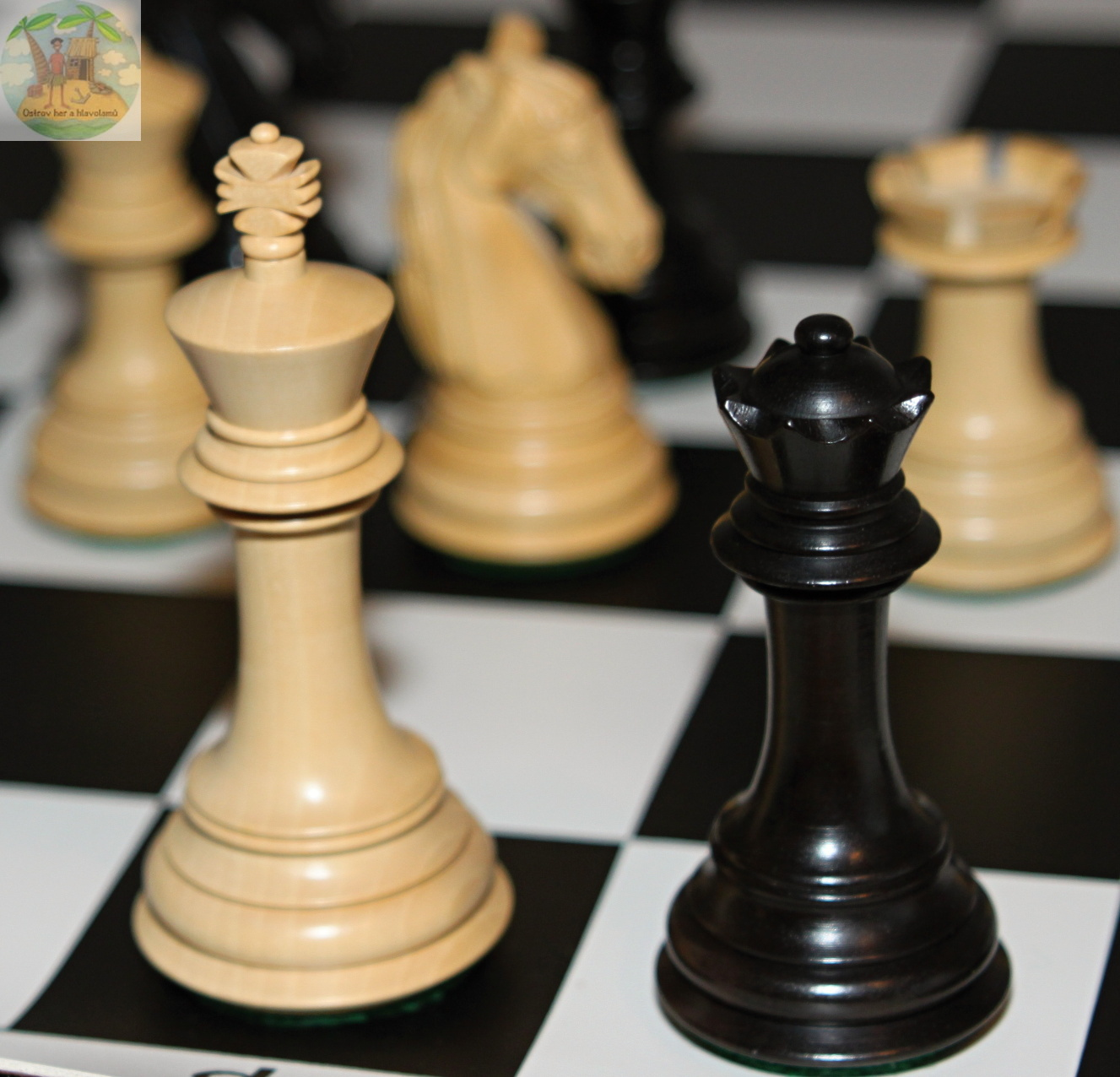 The New Columbian Staunton Series Chess Pieces