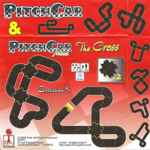 PitchCar Mini Extension 5: The Cross