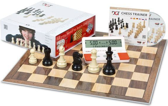 DGT Chess Box Red komplet pro šachisty Junior