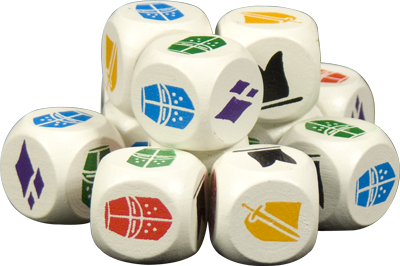 BattleLore wooden Dice