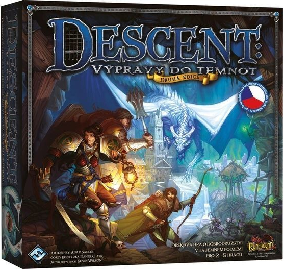 Blackfire Descent 2. edice: Výpravy do temnot
