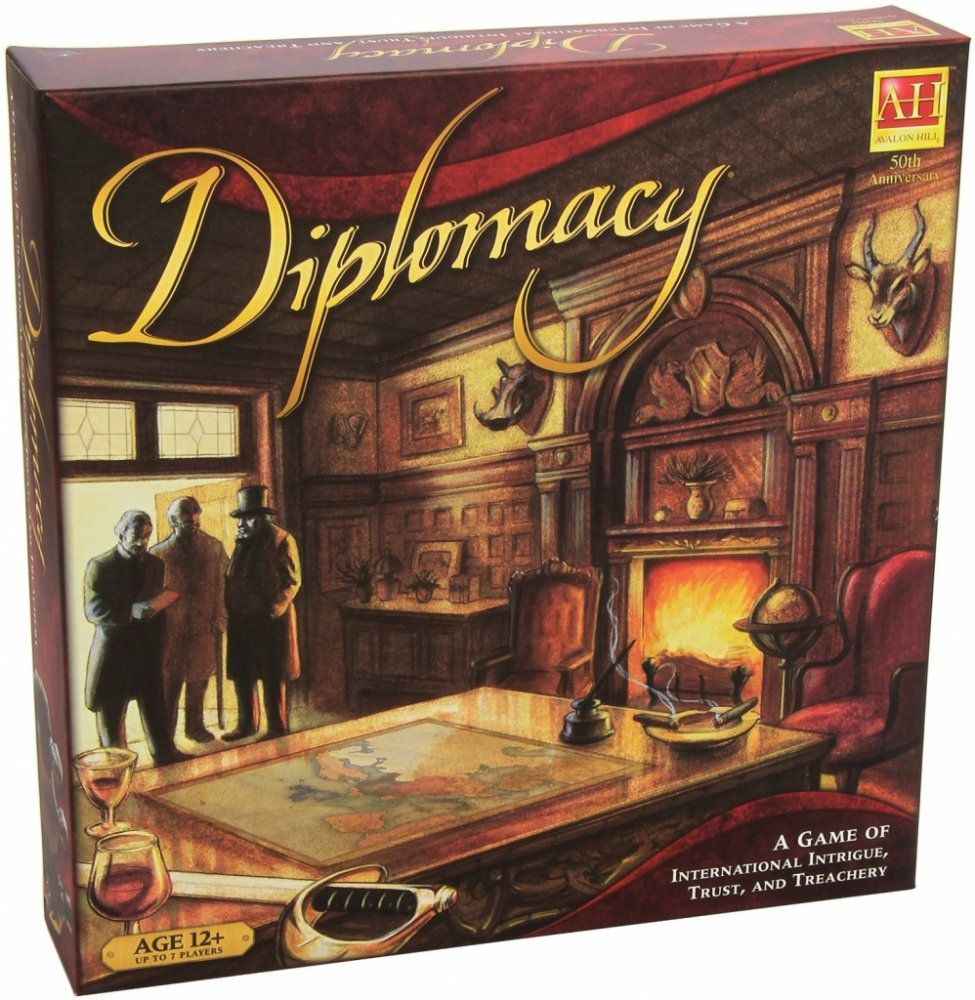 Diplomacy 50th Anniversary Edition ‐ Avalon Hill (Hasbro) 50th Anniversary Edition 2008