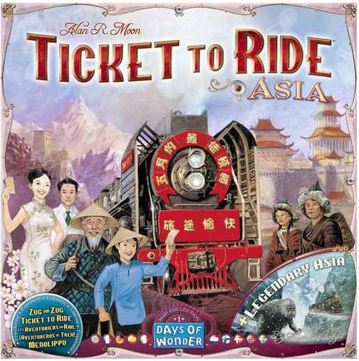 Days of wonder Ticket to Ride: Asie