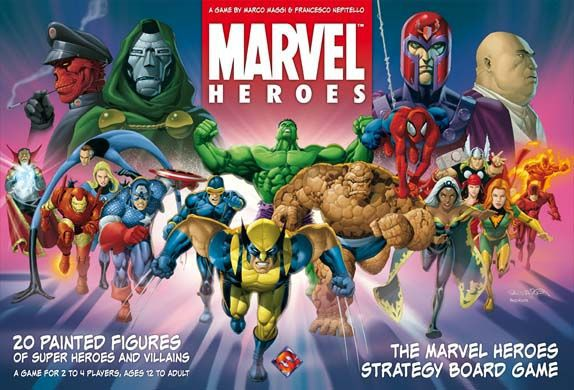 Marvel Heroes ‐ English first edition (2006)