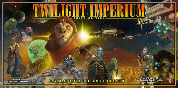 Twilight Imperium 3rd Edition + Shattered Empire