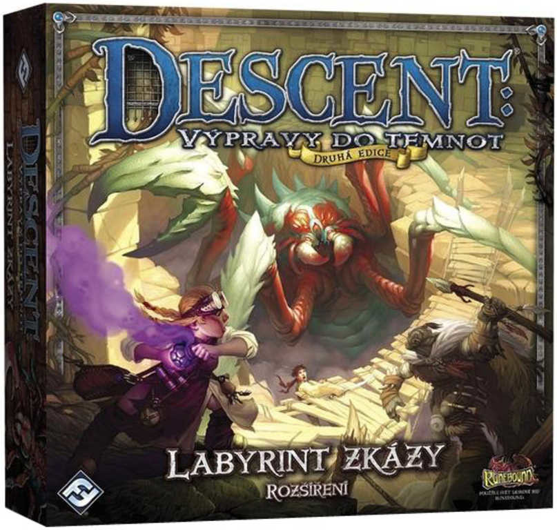 Descent 2. edice: Labyrint zkázy