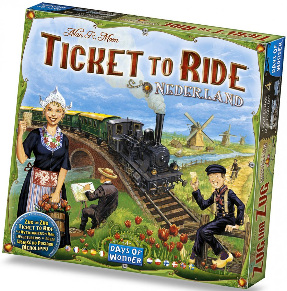 Ticket to Ride: Nederlands