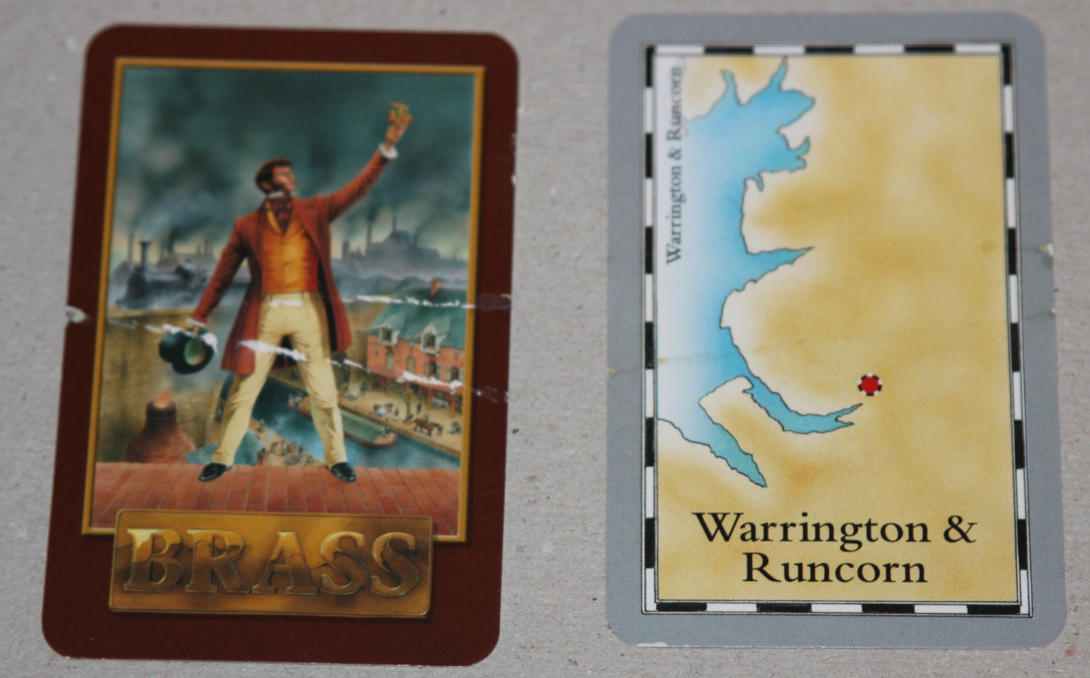 Brass ‐ FRED/Warfrog first edition (2007)